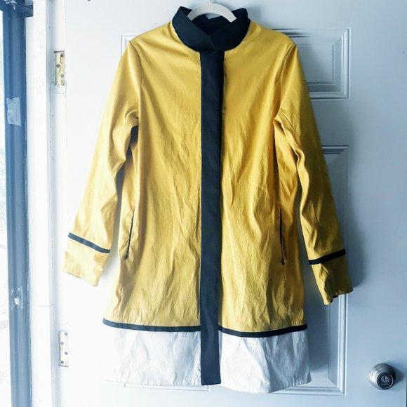 Mycra Pac One Reversible Raincoat Jacket Sz M/L